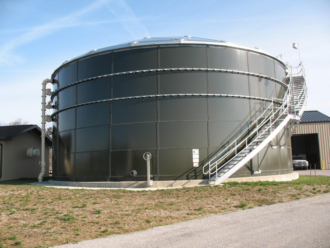 Waterloo Sludge Tank, Illinois